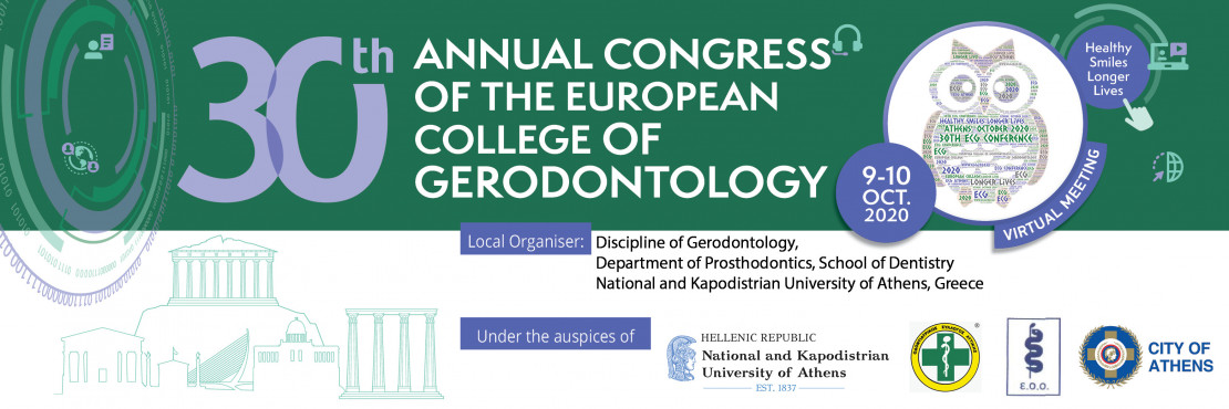 30th Annual Congress of the European College of Gerodontology - ePosters